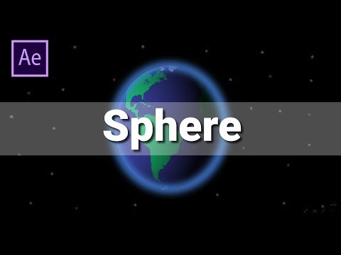How to Create Sphere or 3D Ball in Adobe After Effects