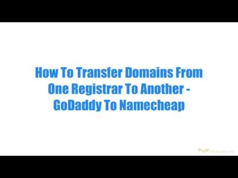 How To Transfer Domain Names To Another Registrar