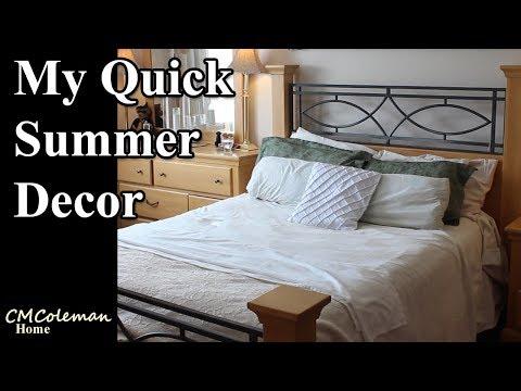Quick Summer Decor