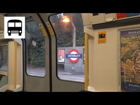 London Underground 1973 Stock - Osterley to Boston Manor (Piccadilly Line)