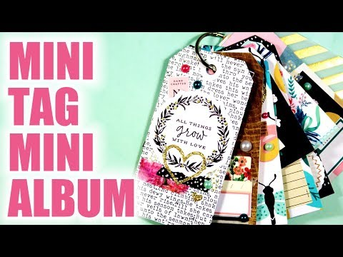 LET'S GET CRAFTY // Mini Tag Mini Album