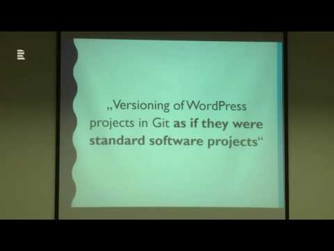 Borek Bernard - VersionPress: How WordPress Guys Do Database Version Vontrol