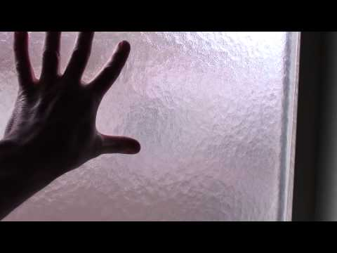 How to instal your own Bathroom Window Privacy Glass