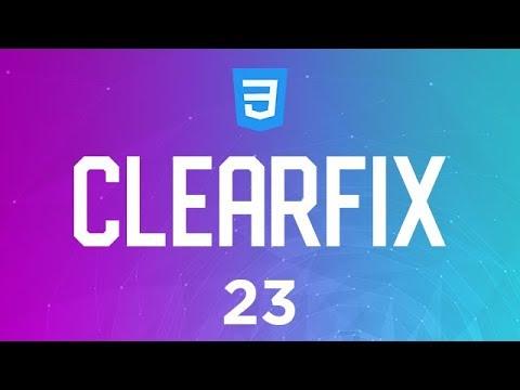 Curso de CSS3 - Aula 23 - Clearfix
