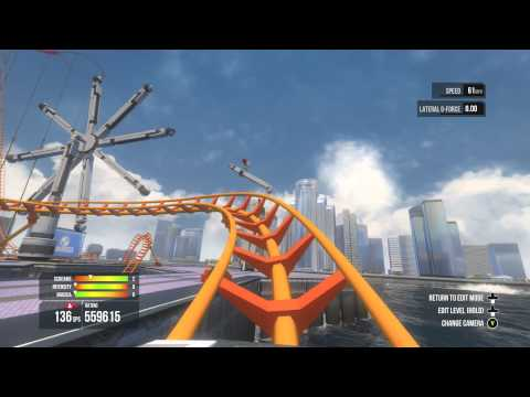Roller Coaster Simulation - Screamride Sandbox Engineer