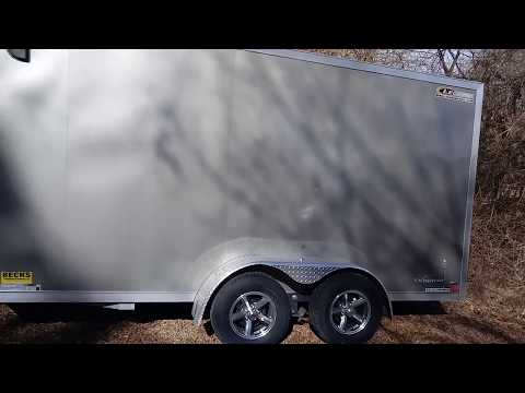 Cargo trailer camper build..7x16 intro