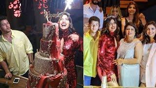 Priyanka Chopra's 37th Bday Celebration Wid Hubby Nick Jonas,Parineeti,Mom Madhu Chopra & Family