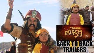 Gautamiputra Satakarni new trailers  back to back   Balakrishna   #GPSK   #Gautamiputrasatakarni
