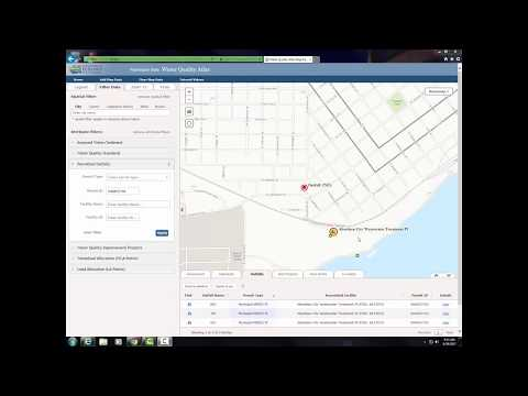 Water Quality Atlas Tutorial - Filtering Outfalls