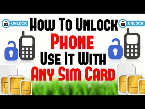 [Hindi-2016] How To Unlock A Phone - Use It With Any SIM Card