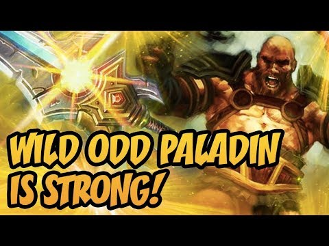 Hearthstone: Wild Odd Paladin Is Strong!