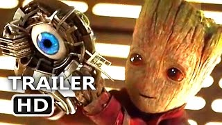 GUARDIANS OF THE GALAXY 2 - BABY GROOT Sweet Escape Tv Spot Trailer (2017) Blockbuster Movie HD