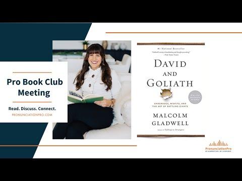 David & Goliath - Pronunciation Pro BOOK CLUB
