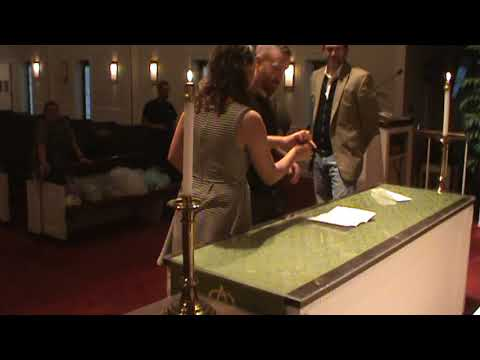 Wedding Rehearsal 7- Signing Marriage Certificate