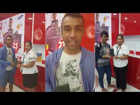 Vodafone Fiji's 23rd Birthday Daily Winners
