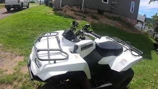 Suzuki KingQuad 750 | Acceleration and Top speed - Vidly xyz