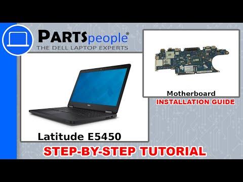 Dell Latitude E5450 Motherboard Replacement Video Tutorial
