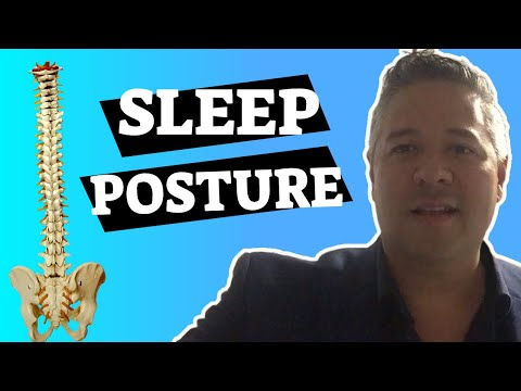 Sleep posture to avoid back pain