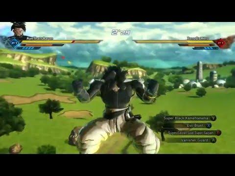 Mr. Galaxy goes Super Saiyan Blue for the first time!! | Dragon Ball Xenoverse 2