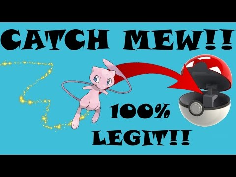 How to Catch Mew in Pokemon Red and Blue versions