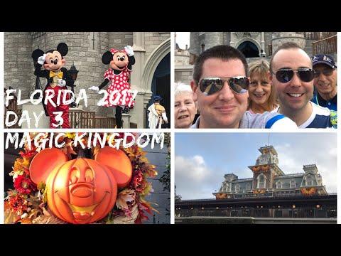 Walt Disney World & Florida 2017 Vlog - October 2017 - Day 3 - Magic Kingdom Part 1