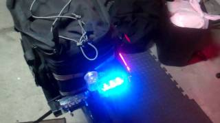 LED Emergency Police Bicycle Light System
