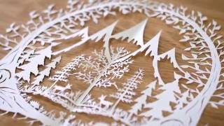PAPER CUTTING: Sketching & Cutting Your Piece - Part 2