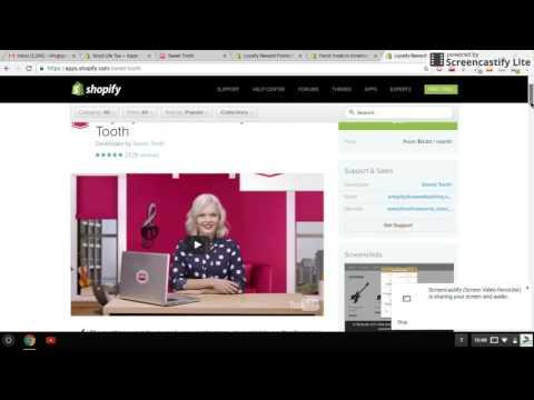 Shopify app reveiw - Sweet Tooth loyalty program AKA reward points