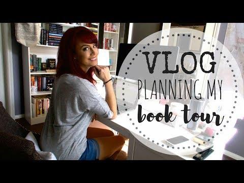 VLOG | Planning my BOOK TOUR