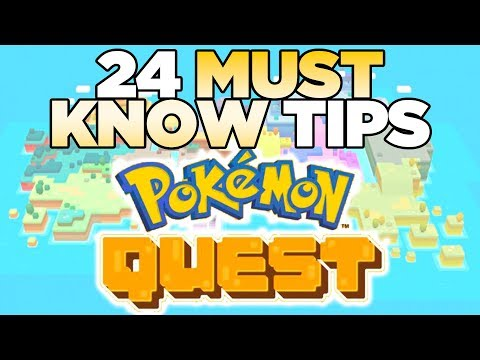 24 MUST KNOW Tips for Pokemon Quest Nintendo Switch | Austin John Plays