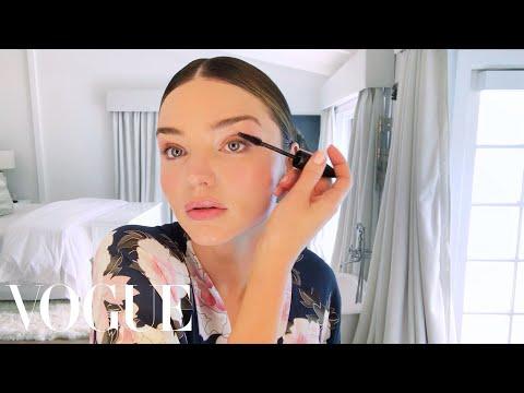 Miranda Kerr Applies Her Glowing Wedding Day Makeup | Beauty Secrets | Vogue
