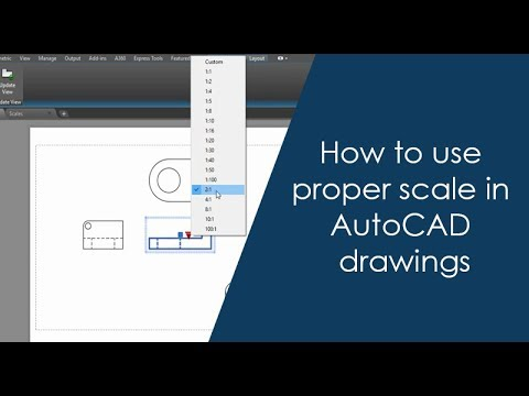 How to use proper scale in AutoCAD drawings - Part 2 of 2