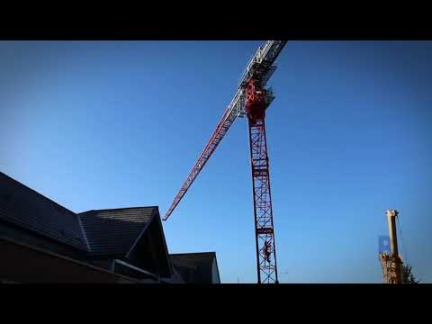 Removal of crane at Park Gardens