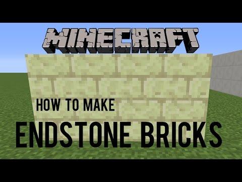 How To Make Endstone Bricks In Minecraft 1.9 - Snapshot 15w31a