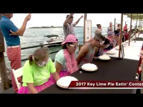 2017 Key West Key Lime Pie Eatin' Contest