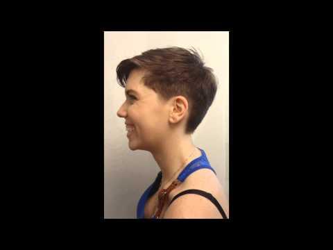 Pixie Haircut   Megan super short hair