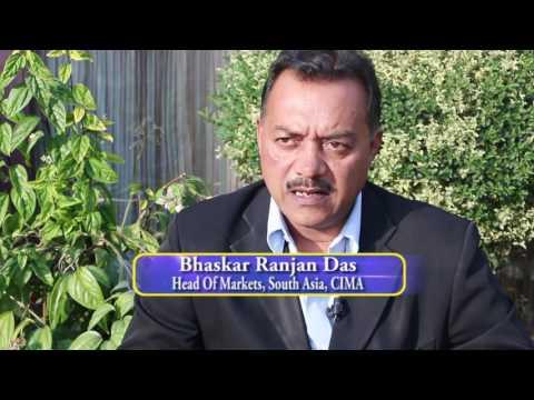 A talkshow with CIMA South Asia market head Bhaskar Ranjan Das