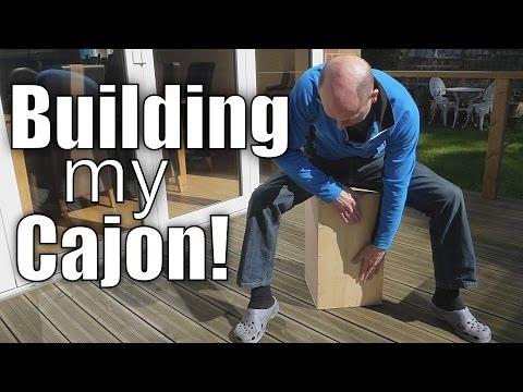Building my own Cajon Drum!
