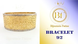 Bracelets 92 Or 18 Carat Beldi Chic