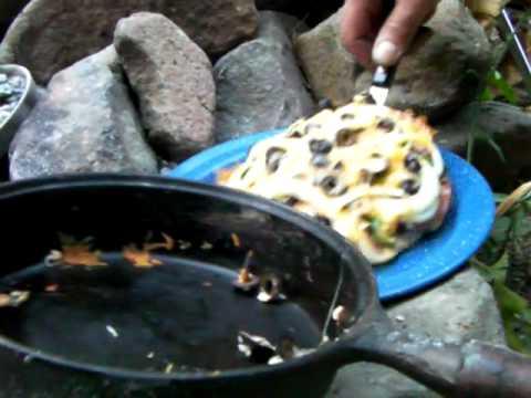 Mmmmm, Bannock Pizza!