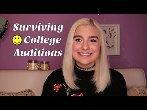 10 Things I Wish I knew Before College Auditions!