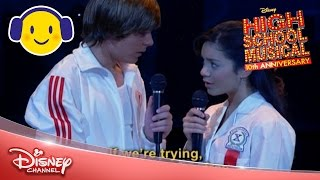 Download High School Musical | Breaking Free Sing-a-Long 🎤 | Official Disney Channel UK Video