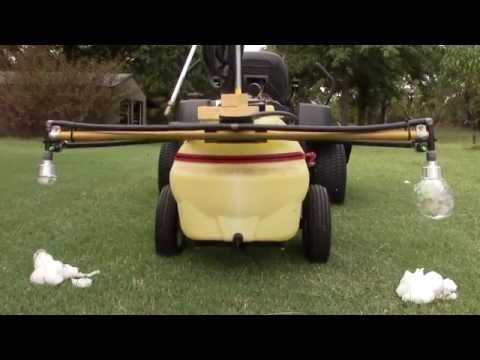 Home made foam marker for boom sprayer