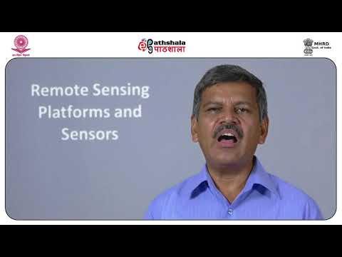 Remote sensing platforms and sensors