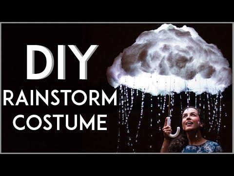 DIY LED RAINSTORM COSTUME | KATHERINE LAUREN