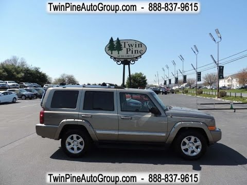 How to shift into 4 wheel low in Jeep Commander