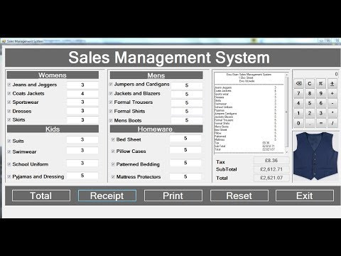 How to Create Sales Management System with Print Control in C# - Part 3 of 3