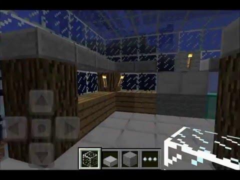 minecraft pocket edition underwater house
