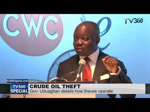 Delta Governor explains how crude oil is stolen in Nigeria and how to stop it