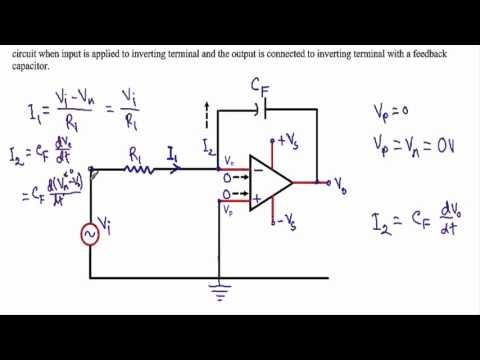 Op-Amp Integrator Circuit (w subtitles)